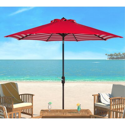 Hookton Crank 8.5 Market Umbrella by Breakwater Bay Today Only Sale