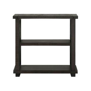 Brayden 2 Tier Wooden Standard Bookcase