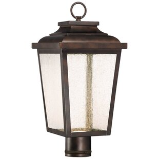 Mayhugh 1-Light LED Lantern Head by Three Posts