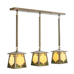 Meyda Tiffany Kirkpatrick 3-Light Kitchen Island Pendant