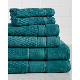 Degen 6 Piece Turkish Cotton Towel Set (Set of 6) By Zipcode Design