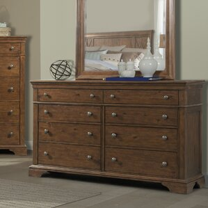 Rock Eagle Road 8 Drawer Standard Dresser by Trisha Yearwood Home Collection