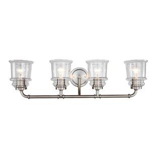 Order Shifflett 4-Light Vanity Light By Charlton Home