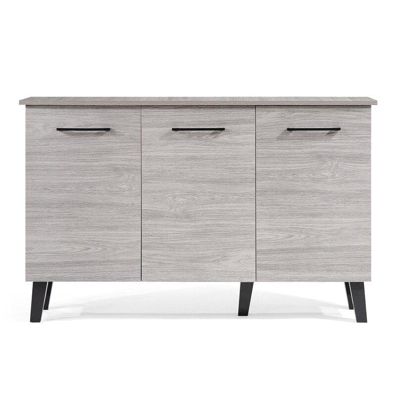 Lusby Fiberboard 3 Door Cabinet  sc 1 st  Wayfair & Cabinets u0026 Chests Youu0027ll Love | Wayfair pezcame.com