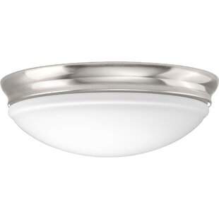 Mccully 1-Light LED Flush ..