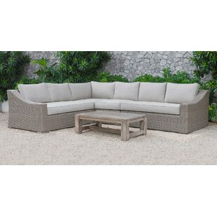 Gracie Oaks Abbot 5 Piece Sectional Set with Cushions