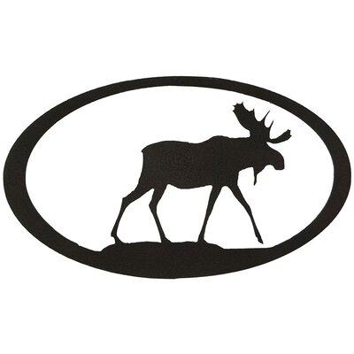 7055 Inc Moose Oval Wall Décor | Wayfair