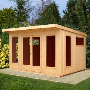 Fleetwood 12 X 10 Ft. Shiplap Summer House By Sol 72 Outdoor