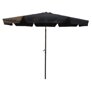 Devansh 10' Drape Umbrella by Wrought Studio