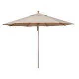 Cyprus 11 Octagon Wood/Aluminum Market Umbrella in - Antique Beige