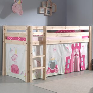 Princess European Single Mid Sleeper Bed by Vipack