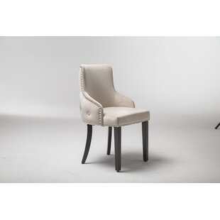 Brookside Upholstered Dining Chair (Set Of 2) By Rosalind Wheeler