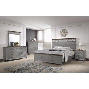 Gracie Oaks Octavius Panel Configurable Bedroom Set