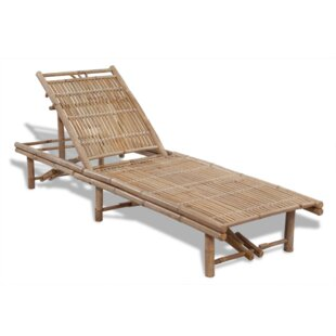 Reclining Sun Lounger By Bay Isle Home