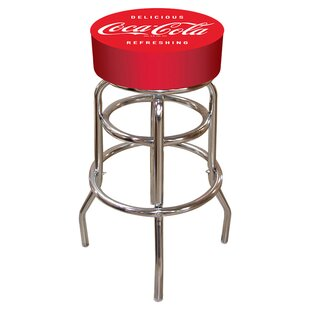 Coca Cola 31 Swivel Bar Stool Trademark Global