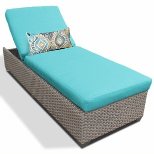 Reclining Chaise Lounge with Cushion