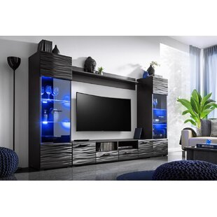 Buy clear Priebe Modica Modern Entertainment Center for TVs up to 65 by Orren Ellis Reviews (2019) & Buyer's Guide