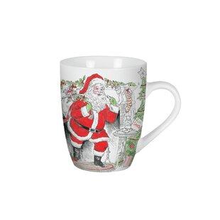 Vintage Holiday Mug (Set of 2)