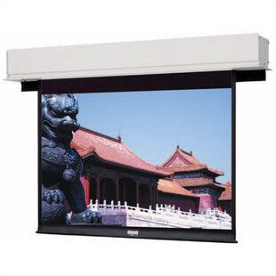 Advantage Deluxe Electrol Matte White Electric Projection Screen