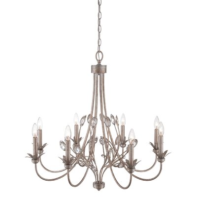 Liesse 8 - Light Candle Style Classic / Traditional Chandelier Lark Manor