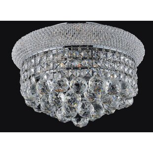 Rosdorf Park Andres 3-Light Flush Mount