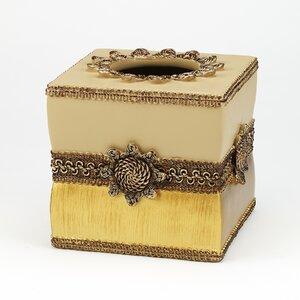 Braided Medallion Tissue Box Cover Avanti Linens