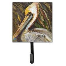 Pelican Lookin East Leash Holder and Wall Hook by Caroline's Treasures