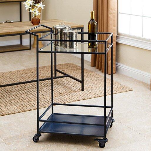 Willa arlo interiors adalgar bar cart reviews - Willa arlo interiors keeley bar cart ...
