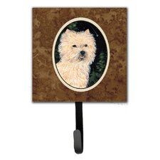 Starry Night Cairn Terrier Leash Holder and Wall Hook by Caroline's Treasures