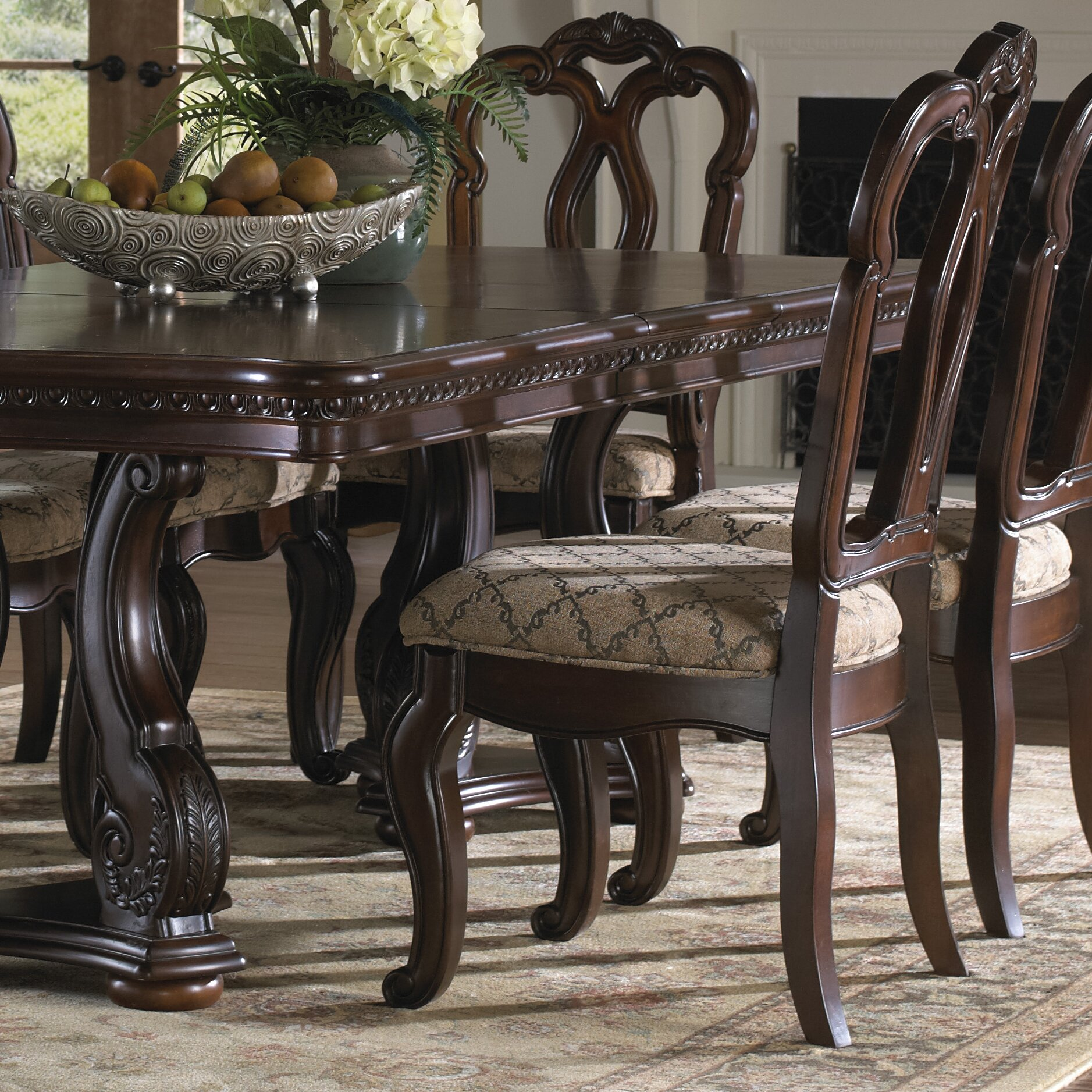 Samuel Lawrence San Marino 7 Piece Dining Set & Reviews | Wayfair