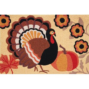 Euphemia Rustic Turkey Utility Mat by The Holiday Aisle