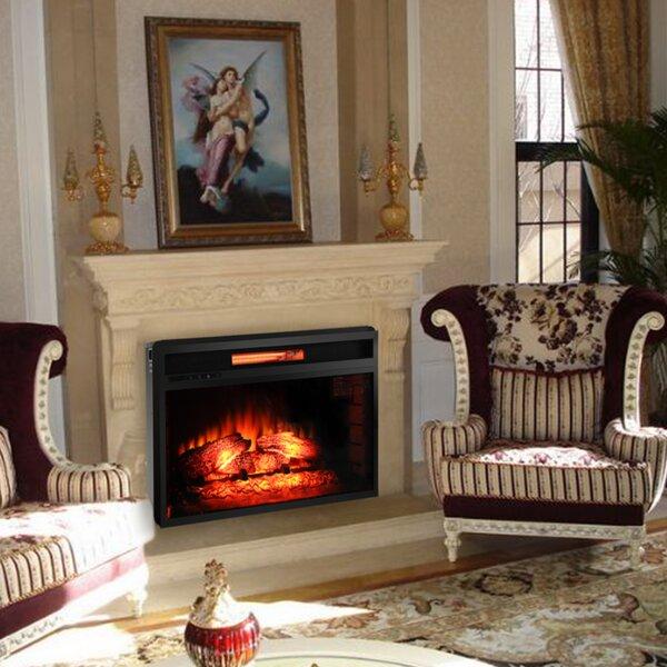 Decor Flame Electric Fireplace Wayfair Ca
