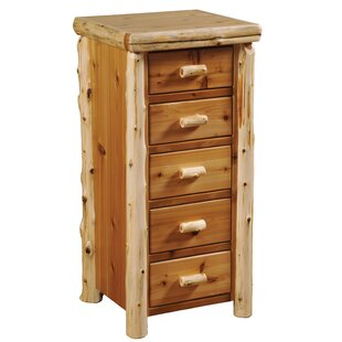 Price comparison Value Cedar 5 Drawer Lingerie Chest by Fireside Lodge