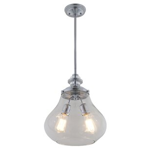 DVI El Dorado 2-Light Schoolhouse Pendant
