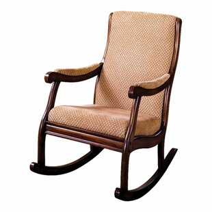 Comparison Bernardyn Rocking Chair by Darby Home Co Reviews (2019) & Buyer's Guide