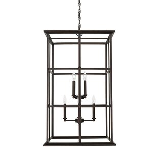 Darby Home Co Lipan 8-Light Square/Rectangle Chandelier