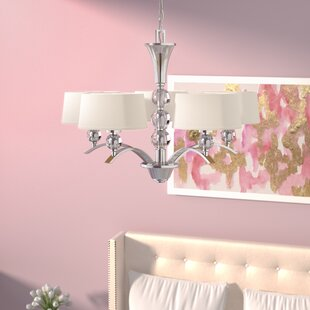 Lewis 5-Light Shaded Chandelier by Willa Arlo Interiors