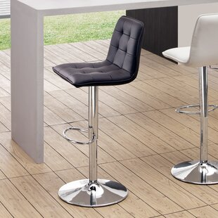 Galvan Adjustable Height Bar Stool Wade Logan