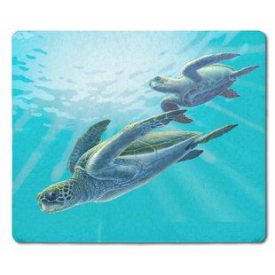 Sea Turtles Glass Cutting Board