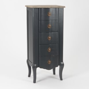 Tyron 5 Drawer Chest Of Drawers By Fleur De Lis Living