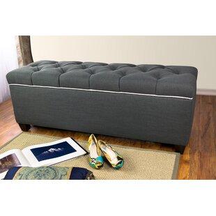 Roessler Upholstered Storage Bench by Red Barrel Studio
