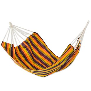 Novica Guatemalan Sunset Double Acrylic Tree Hammock