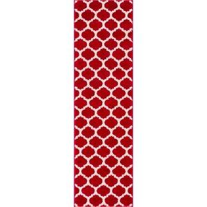 Rubino Red Area Rug