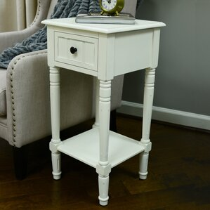 Everly End Table With Storage