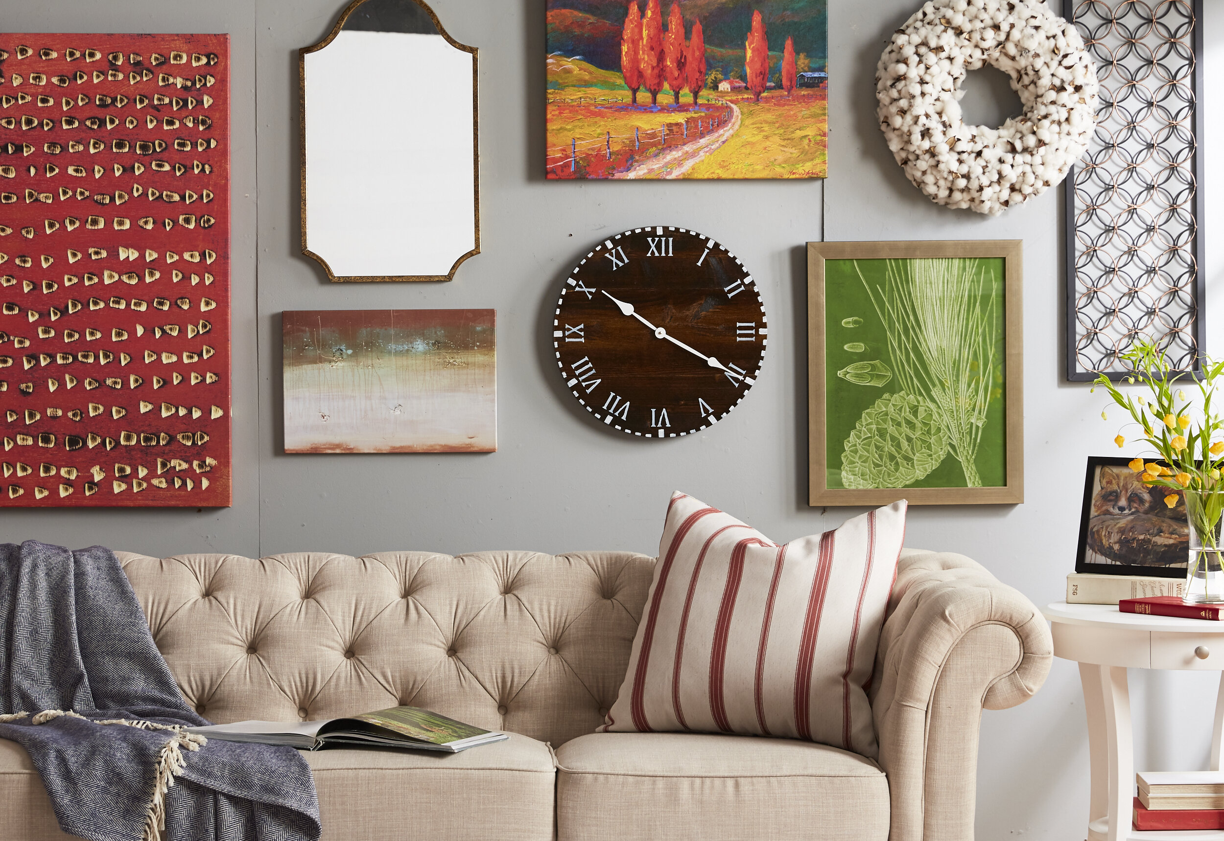 Living Room Wall Decor Ideas With Photos Wayfair