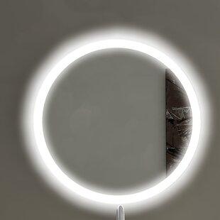 Affordable Round Backlit Bathroom/Vanity Mirror ByParis Mirror