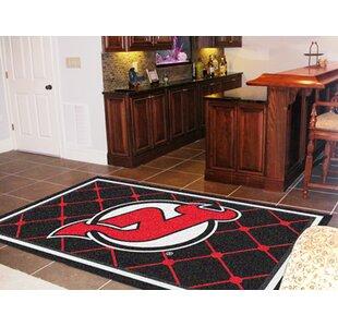NHL - New Jersey Devils 5x8 Rug ByFANMATS