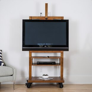 Hunedoara Solid Wood TV Stand for TVs up to 43 by Williston Forge