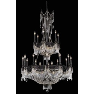 Ursula 27-Light Chain Empire Chandelier by Astoria Grand
