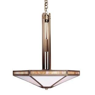 Arroyo Craftsman Etoile 4-Light Bowl Pendant